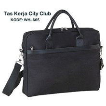 Tas Kerja Laptop Mewah City Club WH-665