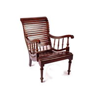 Sell Teak Lazy Chair Dark Brown 01