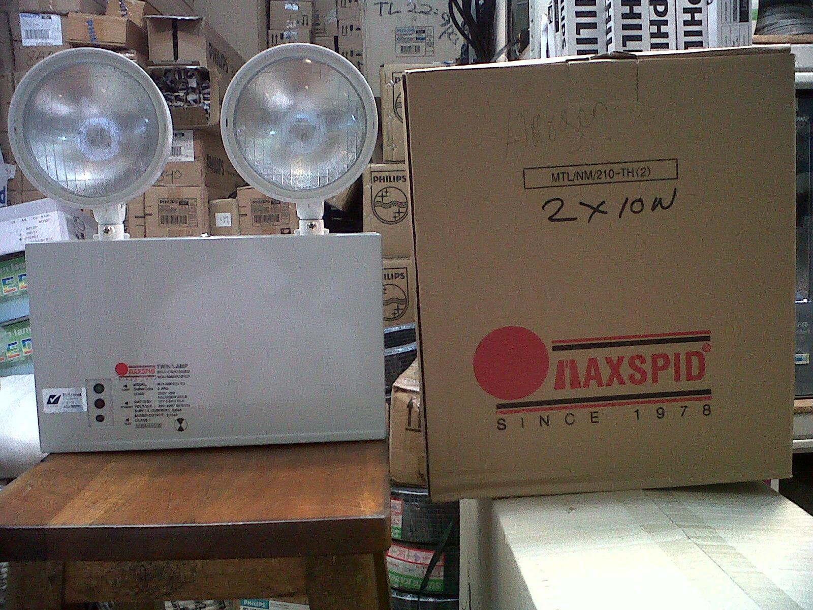 Jual Lampu Emergency Maxspid Harga Murah Jakarta Oleh