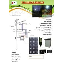 pju 50W solar power packet