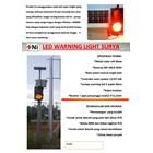 Jual paket led warning light tenaga surya