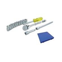Kunci Soket Set - 15 Pcs (Imperial Standard Dr. 0.25 Inch)