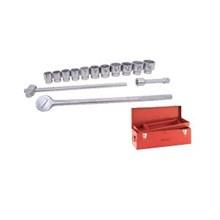 Kunci Soket Set -  15 Pcs (Imperial Dr. 1 Inch)