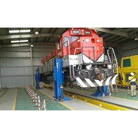 Lifting jacks for Railway workshops
