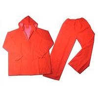 Jual Jas Hujan Safe-T Orange Polos