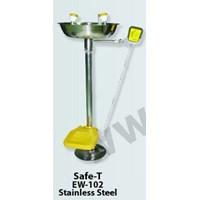 Jual Alat Pencuci Mata Safe-t Eye Wash EW-102 Stainless Steel