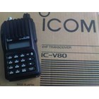 Jual Handy Talky Icom Ht Ic-V80 Lithium Battery And Rapid Charger Original