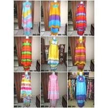 Balinese Muslim Prayer Garment - Rainbow Theme