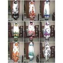 Balinese Muslim Prayer Garment - White Based Color