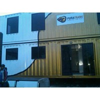 Office Container and Portacamp Terhubung