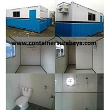 Container Office Murah extra Toilet
