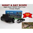 Night Vision Yukon 'Patrol' 2X24 + Scope Adapter.