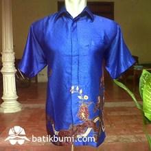Kemeja Batik Semi Sutera Bp 025
