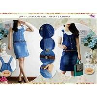 J041 Jeans Overal Dress +Inner+Belt