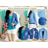 K092 Miranda Jeans Blazer +Inner Spandek