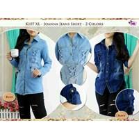 Jual K107 Joanna Jeans Shirt