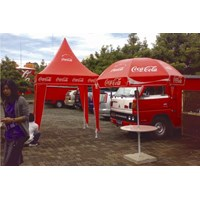 Sell coca cola promo awning