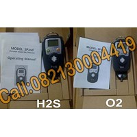 Senko Sp2nd Single Gas Detector H2s ( 0-100 Ppm)