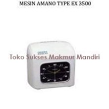 Mesin Absen (Mesin Amano Type EX 3500)