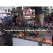 Mesin Filling Standing Pouch Semi Auto (Kemasan Refill)