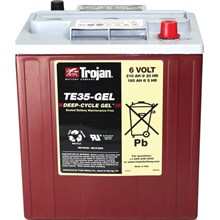 TE35 Trojan Battery battery Type GEL-.6V