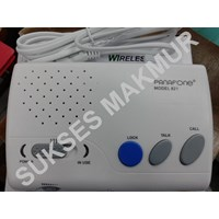 Jual Intercom Wireles PANAFONE 821