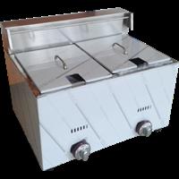 Mesin Deep Fryer Gas 6 Liter 2 Tangki