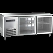 Mesin Sterilisasi Makanan Mesin Undercounter Glass Door Chiller Masema 150