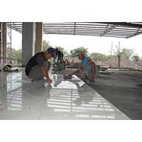 Interior Kantor Pekanbaru - Pemasangan Keramik