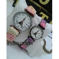 Jual Jam Tangan Ourcreamy Nilon