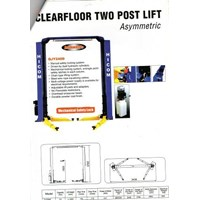 Jual CLearfloor Two Post Lift merk hicom