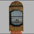 Sell Wayang Kulit Motif Carving Cage
