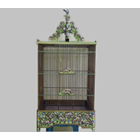 Sell Cage Motif Pillar Carving A Squirrel (Ready Stock)