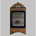 Sell Carve The Puppet Motif Natural Cage (Ready Stock)