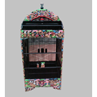 Sell The Puppet Motif Carving Cage Airbrush-Galaxy Bird Cage