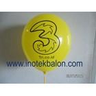 Balon Latex Print Sablon 1 Warna