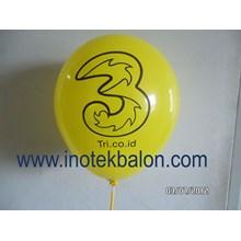 Balon 12 Inch Print Sablon Dua Sisi 1 Warna