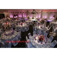 13 Dekorasi Gedung Pernikanhan-Flowers Building Decoration Wedding (001)