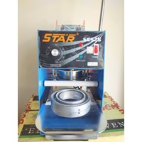 Jual MESIN SEGEL GELAS PLASTIK STAR SCS 25-35