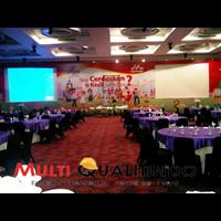 Jasa Backdrop Event 1