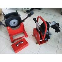 Jual Distributor Mesin Las Pipa Hdpe SHDS 160 Manual Ukuran 50Mm Sampai 6 Inc