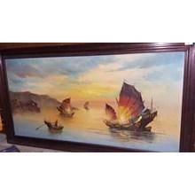 Lukisan Perahu (Nov.15.155.M.01)