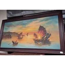 Lukisan Perahu (Nov.15.155.M)