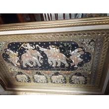 Seni lukisan Pigura Thailand Besar (Apr.16.154.N.2)