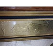[Seni Lukis dan Kaligrafi] Frame Kuningan Bsr (Agt