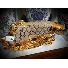 Patung Pajangan Ikan Arwana (Agt.16.140.Y.2)