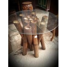 Meja Ruang Keluarga Bambu Kaca Bsr (Sep.16.03.H.1)