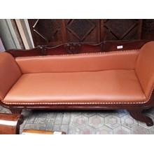[Kursi Ruang Keluarga] Kursi Panjang Orange (Sep.1