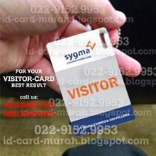 Cetak ID Card Kartu Visitor