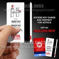 Cetak Kartu Akses Hotel Magnetik RFID